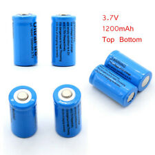 1-10PC 1200mAh 3.7V 16340 Li-ion Rechargeable Battery For Torch CE UK Stock
