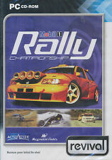 MOBIL 1 RALLY CHAMPIONSHIP - Rare Classic Racing Sim PC Game - US Seller - NEW!