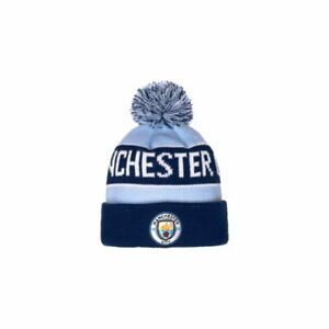 MANCHESTER CITY – BENCHWARMER POM BEANIE (Fi COLLECTION)