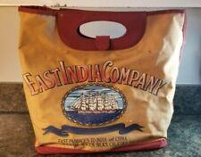 Vintage East India Company Canvas Tote Bag