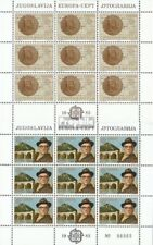 Yougoslavie 1984-1985 Feuille miniature (édition complète) neuf 1983 super Trava