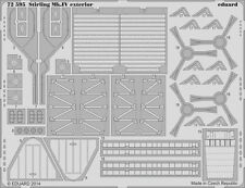 Eduard #72595 1/72 Short Stirling Mk.IV Exterior Detail Set for Italeri kit