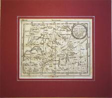 1751 – BUFFIER, SVIZZERA SAVOIA VALTELLINA VALSESIA – SUISSE SAVOIE INCISIONE