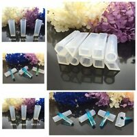 10pcs/set DIY Silicone Molds Resin Necklace Jewelry Pendant Casting Making Tools
