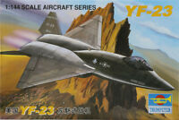 1/144 New Trumpeter United States Aircraft Model YF-23 Gray Ghost Military 1332