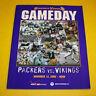 Minnesota Vikings Gameday Program Magazine   2000 to 2009   You Pick