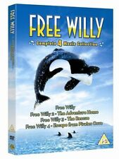 The Free Willy Collection (DVD, 2010, 4-Disc Set)