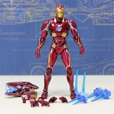 S.H. FIGUARTS SHF Vengadores 3 Infinity Guerra Iron Man Mk50 Figura De Acción Con Caja