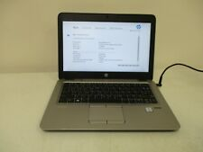 HP EliteBook 820 G3 Core i7 2.60GHz 12GB RAM 512GB SSD NO OS Incomplete laptop