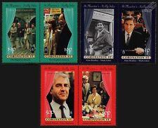1995 St.Martin's Island CORONATION STREET Stamp Set (GB Locals / ITV Granada TV)
