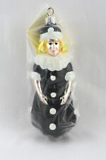 Patricia Breen 1996 Christmas Ornament Pierrot Girl Gothic Look Item # 9621 New