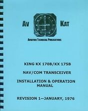 KING KX 170B / KX 175B   NAV/COM INSTALLATION MANUAL