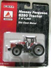 8280 MASSEY-FERGUSON FARM TRACTOR W/ REAR TRIPLES 1/64 DIECAST ERTL 1/9,999