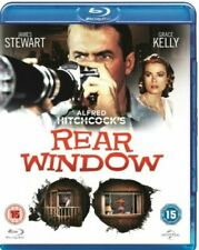 Rear Window Blu-Ray [Region Free] Alfred Hitchcock Classic Thriller Movie -