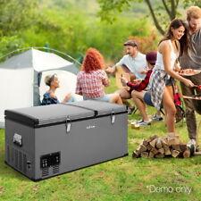 Glacio 85L Portable Fridge Freezer - Black