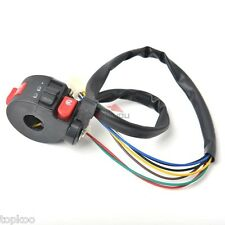 Handle Bar KILL LIGHT STARTER CHOKE SWITCH ATV 90cc 110cc chinese Taotao Roketa
