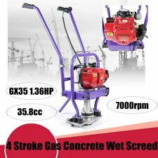 Gas Power 4 Stroke Concrete Surface Vibratory Leveling Screed 358cc 136hp Sale