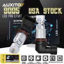 2Pcs 9005 Cree High Power LED Fog Light Bulbs DRL For Acura Lexus Toyota