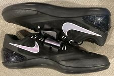 Nike Zoom Rotational 6 Mens Track Discus Throw Shoes Black 685131-003 Mens Sz 10