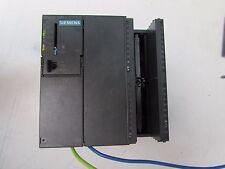 SIEMENS 6ES7315-6FF00-0AB0 SIMATIC S7 CPU315F-2DP PROCESSOR MODULE NICE USED M/O