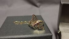 Welsh Clogau 9ct Yellow & Rose Gold Butterfly Ring Size L RRP £340