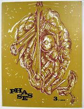 PHASE 3 2eme série Edouard Jaguer surréalisme 1971 édition originale