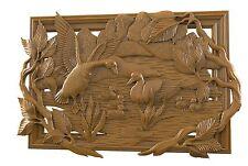 3d STL Model for CNC 080 (Ducks) Router Engraver Carving Machine Relief Artcam