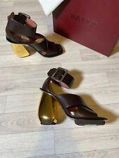 Bally Shoes Ladies Jacinte/11 Coffee Pumps Heels Bally Switzerland NEW 6.5 US9