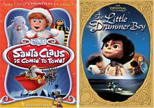Santa Claus is Coming to Town/The Little Drummer Boy Dbl Feature DVD NEW FREE SH