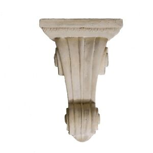 "Corbel Bracket or Shelf Faux Stone Vintage Victorian Style Big 19"" Tall Sconce"