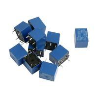 10 Pcs DC 5V Coil 7A 240VAC 10A 125VAC/28VDC 5 Pins SPST Power Relay JQC-3F N7O1