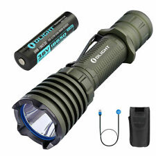 OLIGHT Warrior X 2000 Lumen Magnetic Rechargeable Tactical Flashlight (OD Green)