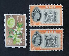 Ckstamps: Gb Stamps Collection Fiji Scott#175 184 189 Mint H Og