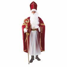 Nikolaus Weihnachtsmann hochwertig #840 Profi Bischofskostüm