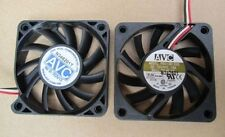 AVC F6010B12HS Fan 0.19A 12V 60*60*10mm 3pin #M794 QL