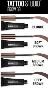 Maybelline Tattoo Studio Waterproof Brow Gel ~ Choose From 8 Shades