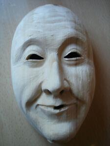 Maskenrohling Glattlarve Mann  Nr.209 , Fasnet, Rohling, Holzmaske Larve,