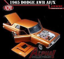 ACME A1806502 1:18 1965 DODGE A/FX AWB BLAZING COPPER METALLIC