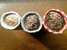 Superbe Lot 1+2+5 cents FINLANDE 2010 - Pièces neuves du rouleau - UNC