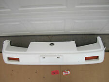 84 85 86 NISSAN 300ZX 300 ZX TURBO FRONT BUMPER COVER WHITE CAR USED OEM PANEL