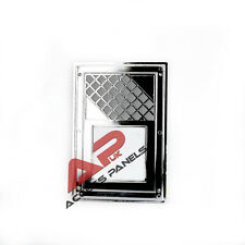 """Air Vent Grille Cover CHROME finish 170x245mm (6.7x9.6"""") Ventilation Grill Cover"""