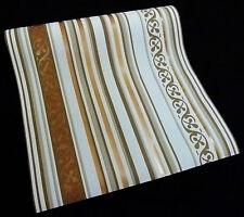 """6788-48-3) Vliestapete """"Pure Elegance"""" Design Tapete weiß beige braun bronce"""