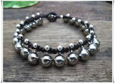 Bell Anklet Silver Beads
