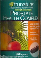 trunature Prostate Health Complex 250 Softgels, Super FAST Shipping via Priority
