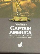 Hot toys sdcc Captain America Rescue version pochettes loose scale 1 / 6e