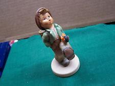 "Hummel Figurine #64  ""Globe Trotter""  Great Piece!!   No Reserve!  SUPER NICE!!"