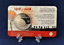 België 2018 5 Euro wapenstilstand coincard
