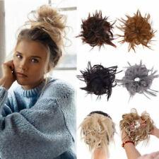 Extensions de cheveux chignons bouclés pour femme