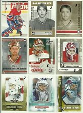 2013-14 ITG BETWEEN THE PIPES GREATS OF THE GAME PATRICK ROY #134 (#9 ON PHOTO)