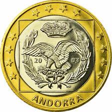 [#731510] Andorra, Fantasy euro patterns, 1 Euro, 2003, SPL, Bi-Metallic